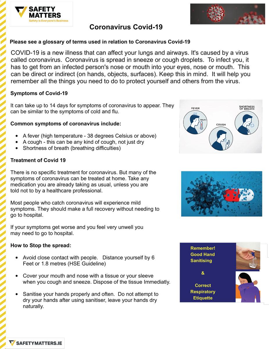 Coronavirus Glossary of Terms 1