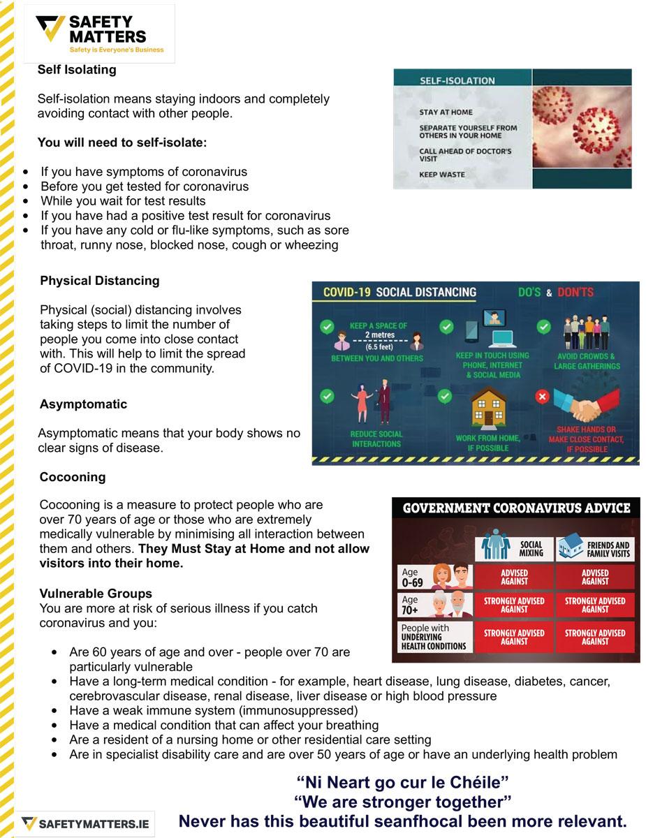 Coronavirus Glossary of Terms 2